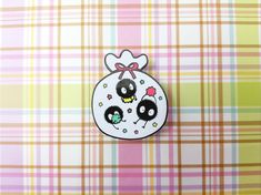 Soot Sprite Lapel Pin by MintandApple on Etsy https://www.etsy.com/listing/586373588/soot-sprite-lapel-pin