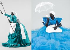 Sophie by South African artist Mary Sibande -- Gorgeous