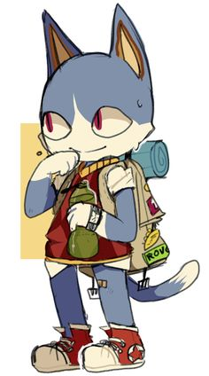 Rover the cat from Animal Crossing (by hibrid56)