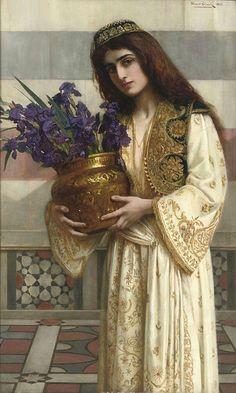 Herbert Gustave Schmalz - Flowers of the Levant