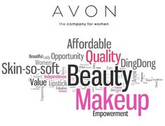 Avon Products, THE company for women! You TOO can become an Avon Representative! Sign up today at www.startavon.com Reference Code: cmoore0806 Enjoy shopping on my Avon online store at www.youravon.com/cmoore0806 Have a great Avon day!