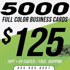 2500 business cards printing custom 16pt uv gloss ultra glossy 5000 business card printing custom 16pt uv coated ultra glossy full color reheart Choice Image