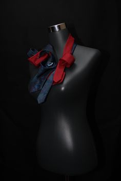 For Sale Up cycled ties now not only suitable for men anymore. Tie necklaces, broaches and belts to brighten up your business blouse or add some colour to your little black dress. mariska@knotiedown.co.za