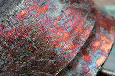 Joshlynessceramics@hotmail.com, Raku Pottery texture, copper, glaze, handmade, bowl, ceramic