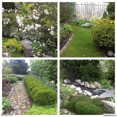 puutarha,suihkulähde,piha,kivipolku