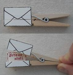 carte de noel a faire soi meme 31 vie www.cartefaitmain.eu #carte #diy