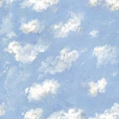 These large sky murals can be tiled on walls or ceilings. Guest room?