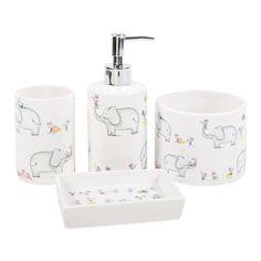 So cute for children's bathroom Elephant Bathroom Set | ZARA HOME United Kingdom