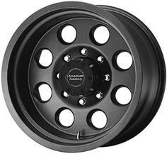 American Racing ATX Teflon Mojave one-piece cast aluminum wheel with teflon coating. Truck Rims, Truck Tyres, American Racing Wheels, Classic Bronco, Off Road Wheels, Winter Tyres, Summit Racing, Rims For Cars, Plastic Design
