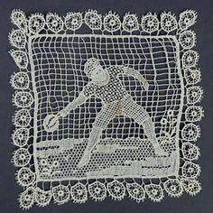 Vintage piece of needle lace