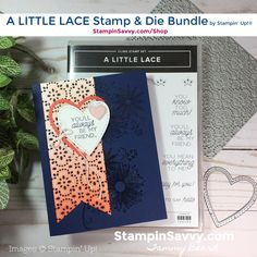 Stampin' Savvy - Page 2 of 16 - Creating Handmade Happiness with Stamps, Ink & Paper! Die Cut Cards, Love Cards, Diy Cards, Cards For Friends, Friend Cards, Heart Cards, Card Sketches, Homemade Cards, Stampin Up Cards