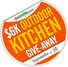 Bob Vila's $6K Outdoor Kitchen Give-Away -- Enter TODAY and every day in June to win a complete outdoor kitchen worth $6,000 — and get your summer sizzlin'. (Ends July 1, 2013)