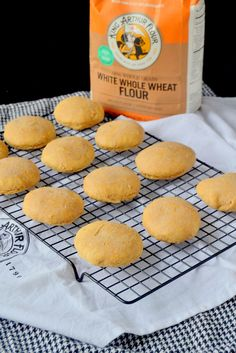 Whole Wheat Biscuits with Almond Milk More