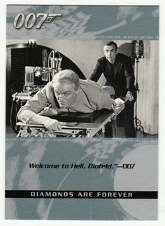 James Bond - The Quotable # 35 - Diamonds Are Forever