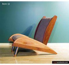 Lounge chair  #cnc #chairs
