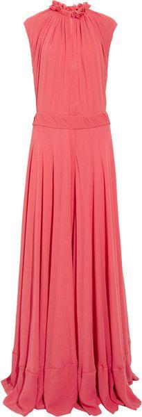 Tory Burch Vianna Silk chiffon Maxi Dress