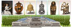 151η επέτειος του Μητροπολιτικού Μουσείου Τέχνης Unicorn Tapestries, Chicken Scratch Embroidery, Building Drawing, Google Doodles, Egyptian Art, Art Google, Logo Google, Large Art, Metropolitan Museum