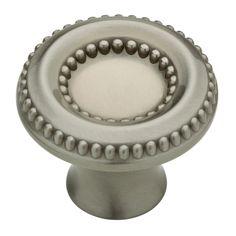 Knobs4Less.com Offers: Liberty Hardware LIB-120369 knob Satin Nickel Liberty Kitchen Cabinet Hardware - Taryn Collection