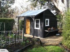 Building & construction for sale in New Zealand. Buy and sell Building & construction on Trade Me. Timber Garden Sheds, Garden Sheds For Sale, Garden Tool Shed, Garden Cabins, Garden Shop, Garden Care, Black Shed, Painted Shed, Shed With Porch