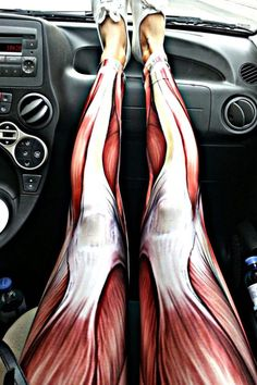 Muscle leggings!