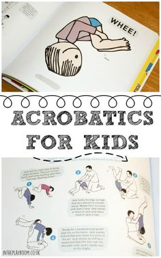 acrobatics for kids. Fun exercises and physical games to help develop motor skills
