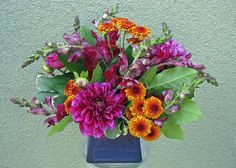 fall flower design | Floral Design and Arranging + Join Group