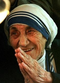 """""""Let no one ever come to you without leaving better and happier. Be the living expression of God's kindness: kindness in your face, kindness in your eyes, kindness in your smile."""" Mother Teresa by marta"""