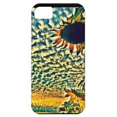 iPhone 5 CASE Sunflower