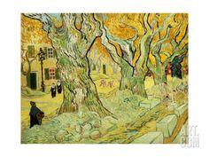Roadworks At Saint-rémy, 1889 Giclee Print by Vincent van Gogh at Art.com