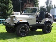1979 Jeep so fun! Cj Jeep, Jeep Cj7, Jeep Wrangler Rubicon, Jeep Truck, Pickup Trucks, Station Wagon, Vintage Jeep, Suspension Design, Jeep Accessories
