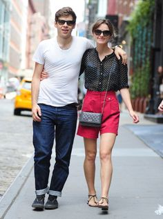 Keira Knightly in Chic Summer Street Style