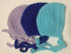Newborn Baby Boy and Girl Crochet Bonnet Photography Prop or Baby Shower Gift Baby Boy Or Girl, Baby Boy Newborn, Simple Photo, Blue Bonnets, Photography Props, Newborn Photographer, Beautiful Babies, Photo Props, Baby Shower Gifts