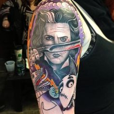 Tim burton tattoos - Google Search