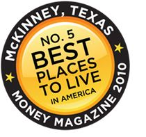 The City of McKinney is located 30 miles north of downtown Dallas in Collin County. A nationally recognized community for its excellent quality of life and robust economy, McKinney is one of the fastest growing cities in the nation.    We are home to companies like Raytheon, Torchmark, Erchonia Medical, Statlab, Manner Plastics, Traxxas and Encore Wire — as well as Collin County Regional Airport.