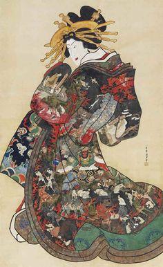 Japanese Artwork, Japanese Painting, Japanese Prints, Ancient Japanese Art, Traditional Japanese Art, Oriental, Geisha, Samurai, Japanese Woodcut