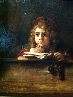 Rembrandt van Rijn, Titus aan de lezenaar