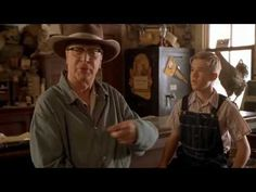 """~ what it takes to be a Man ~  Secondhand Lions. Favorite bar fight scene of all time. Robert Duvall delivers! I LOVE his response to the question, """"Who do you think you are?"""""""