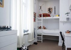 Repurposed Closet in a Kids Room