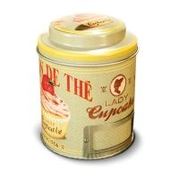 "Lata vintage para té ""Lady Cupcake"""
