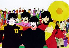 """Heinz Edelmann, the multifaceted graphic designer and illustrator who created the comically hallucinogenic landscape of Pepperland as art director for the 1968 animated Beatles film """"Yellow Submarine,"""" died in 2009. He was 75."""