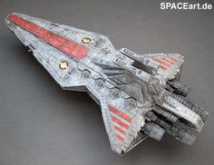 Star Wars: Republic Star Destroyer - Display Modell http://spaceart.de/produkte/sw060.php