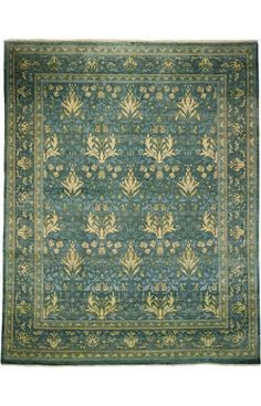 Darya Rugs Arts and Crafts Alverta Rug. 8'x10' Handknotted. $4194. Rugs USA.