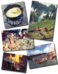 camping projects, games, recipes, DIY, and tips #lacort
