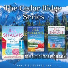 The Cedar Ridge Series — Jill Shalvis Jill Shalvis, New York Times, Siblings, Bestselling Author, Novels, Mountain, Shelves, Humor, Reading