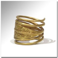 Viking gold ring