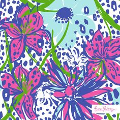 Lilly Pulitzer Spring '14- In the Garden Print