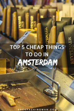 Cheap things to do in Amsterdam.
