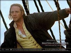 "Captain Jack Aubrey (Russel Crowe) in ""Master and Commander"" (http://veryaware.com/wp-content/uploads/2010/12/Russell_Crowe_in_Master_and_Commander.jpg)"