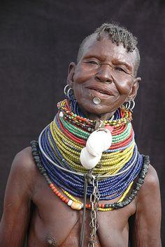 Africa | Turkana woman, Northern Kenya | © Vincent Henau, via Flickr