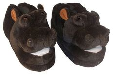 Comfy Feet Hippo Animal Feet Slippers - Mens Slippers at Hayneedle